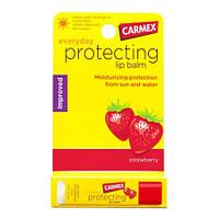Бальзам для губ Carmex Strawberry Stick - Кармекс Клубника Стик, с УФ 15