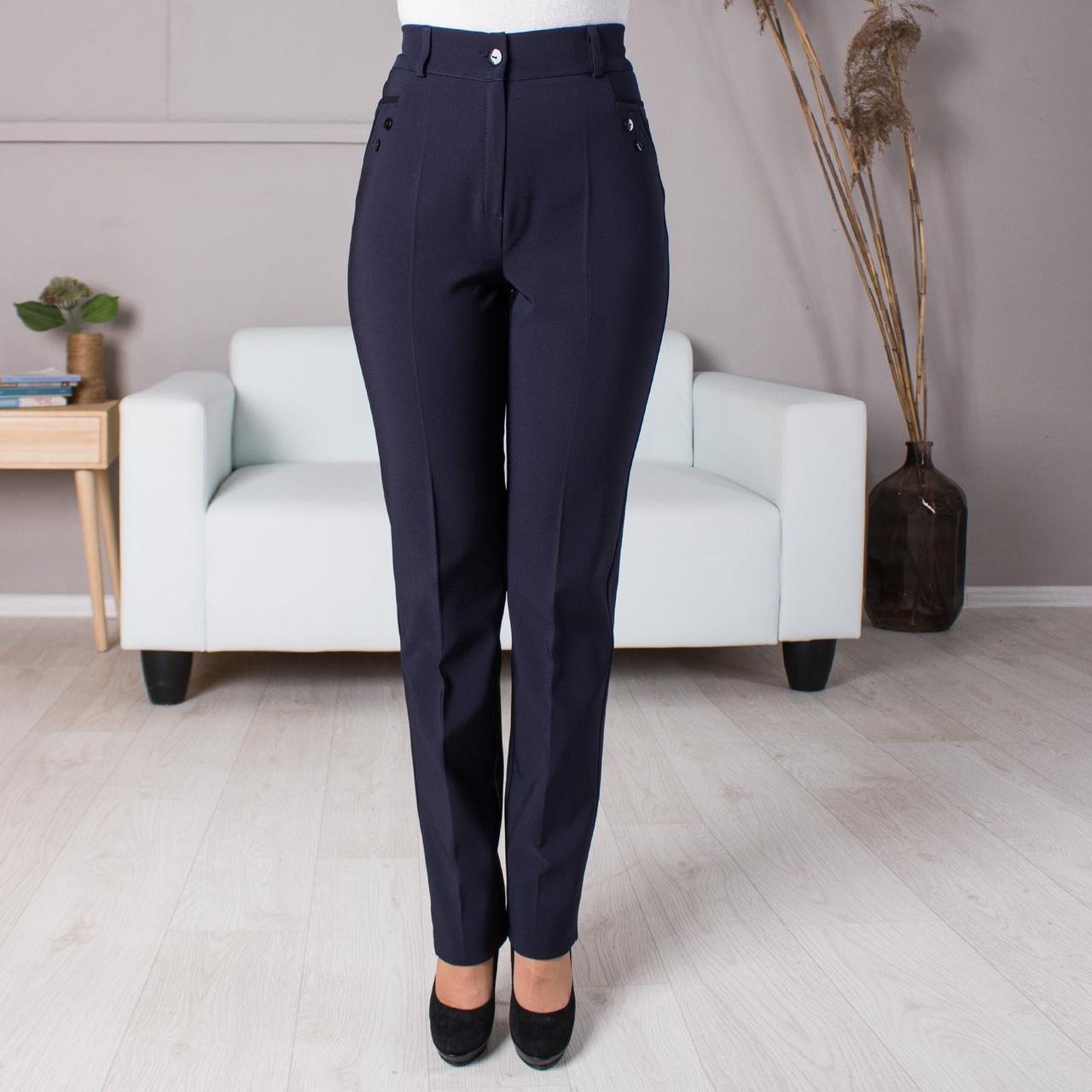 Жіночі теплі штани великого розміру