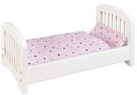 Goki Ліжко для ляльок, біле