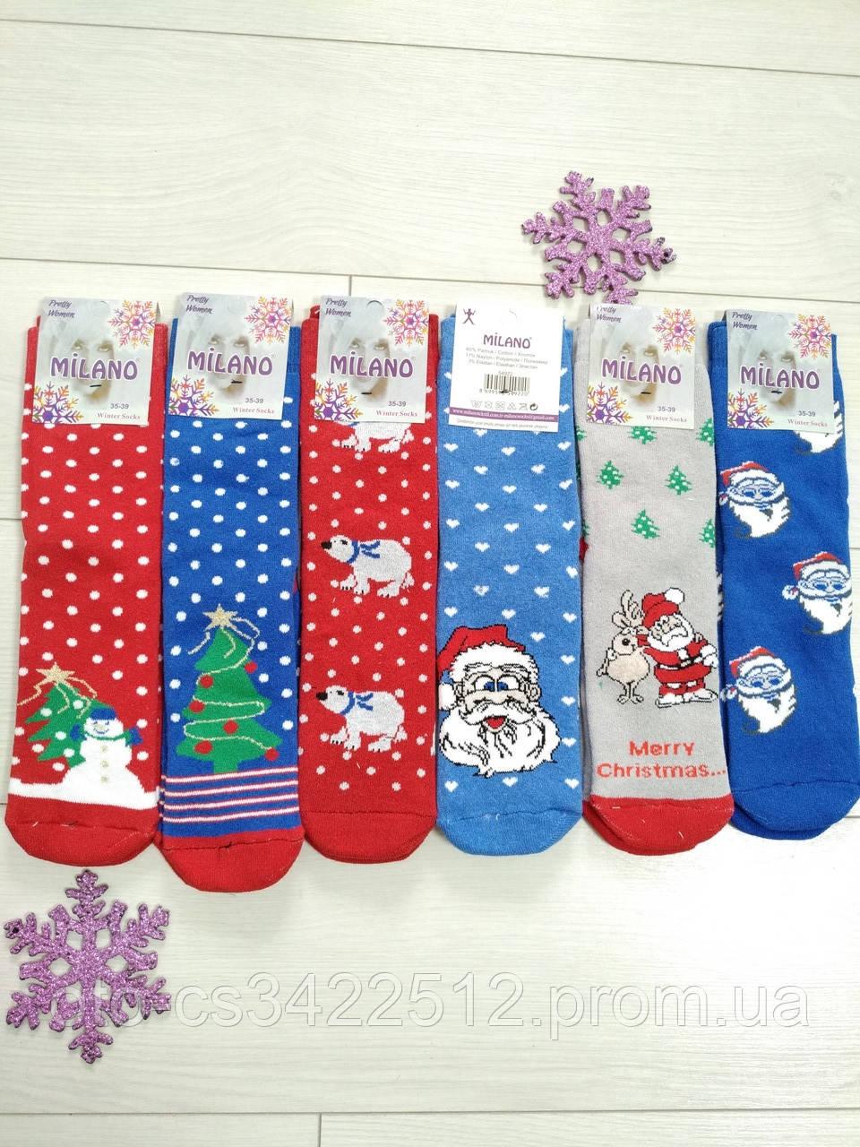 Шкарпетки новорічні Milano