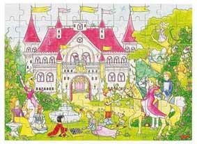 Goki Дерев'яний пазл - Фантастичний палац