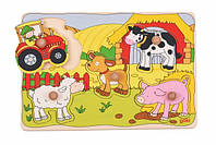Goki Пазл-вкладиш Ферма, фото 1