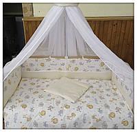 Комплект для детской кроватки Зоопарк