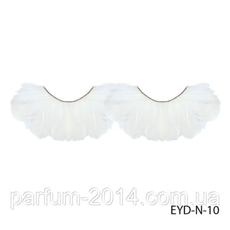 Ресницы декоративные накладные Lady Victory EYD-N-10 из натуральных перьев, фото 2