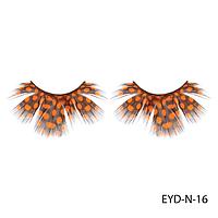 Ресницы декоративные накладные Lady Victory EYD-N-16 из натуральных перьев
