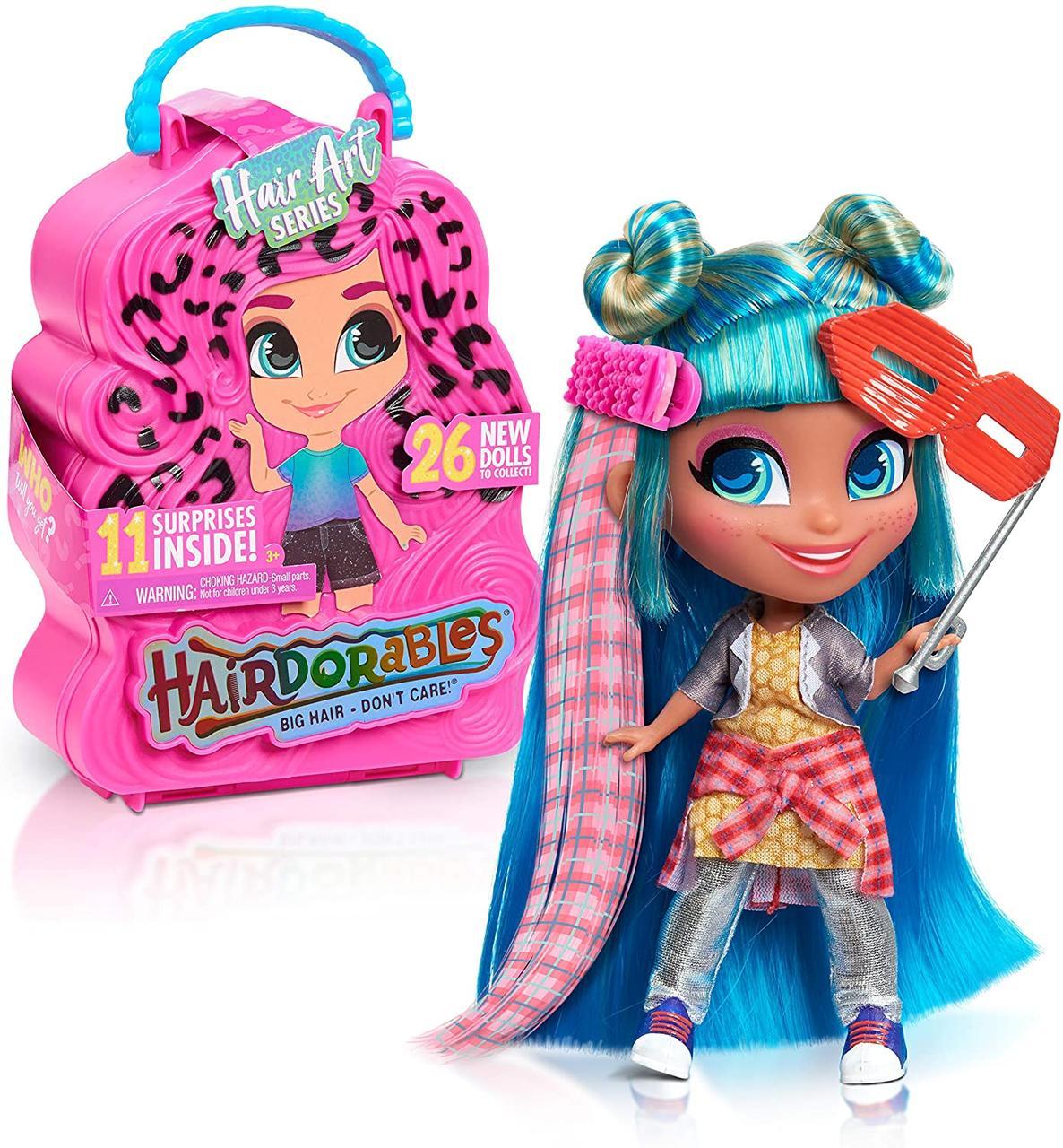 Ароматная кукла Hairdorables Hair Art Хердорабалс 5 серия Искусство волос арт с запахом ароматом