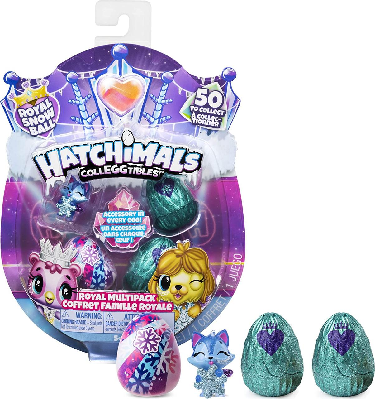 Набор Хетчималс Зимняя серия королевский мультипак Hatchimals CollEGGtibles Royal Multipack хэтчималс ориги