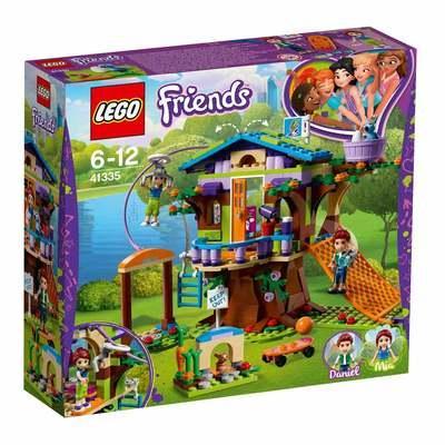 Конструктор Лего френдс 41335 Домик Мии на дереве LEGO Friends Mia Tree House оригинал