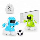 SOCCER ROBOT CAPTAIN Q Роботы футболисты 2 шт. игрушка на пульте управления соккер робот капитан, фото 5