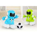 SOCCER ROBOT CAPTAIN Q Роботы футболисты 2 шт. игрушка на пульте управления соккер робот капитан, фото 7