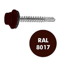 Саморез кровельный 4.8х35 KT(Тайвань) RAL 8017