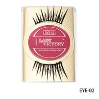 Ресницы декоративные накладные Lady Victory на половину века EYE-02