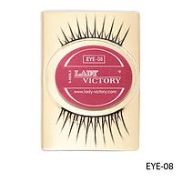 Ресницы декоративные накладные Lady Victory на половину века EYE-08