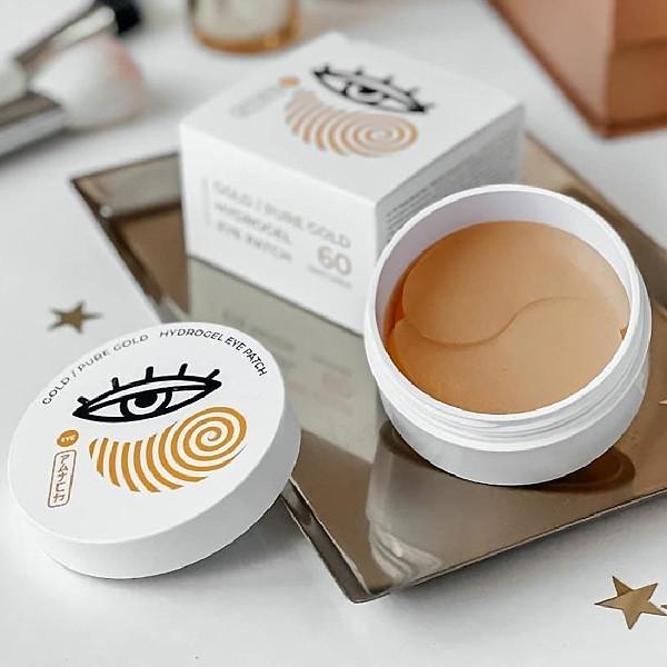 Гидрогелевые патчи с биоактивным золотом с эффектом лифтинга BL Oriental Beauty Gold  60 шт Корея