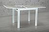 Стол-Трансформер Слайдер 100-200 см (белый/матовый, урбан), фото 2