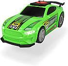 Скоростной автомобиль Форд Мустанг с функцией езды на задних колесах Dickie Toys 3764009, фото 3