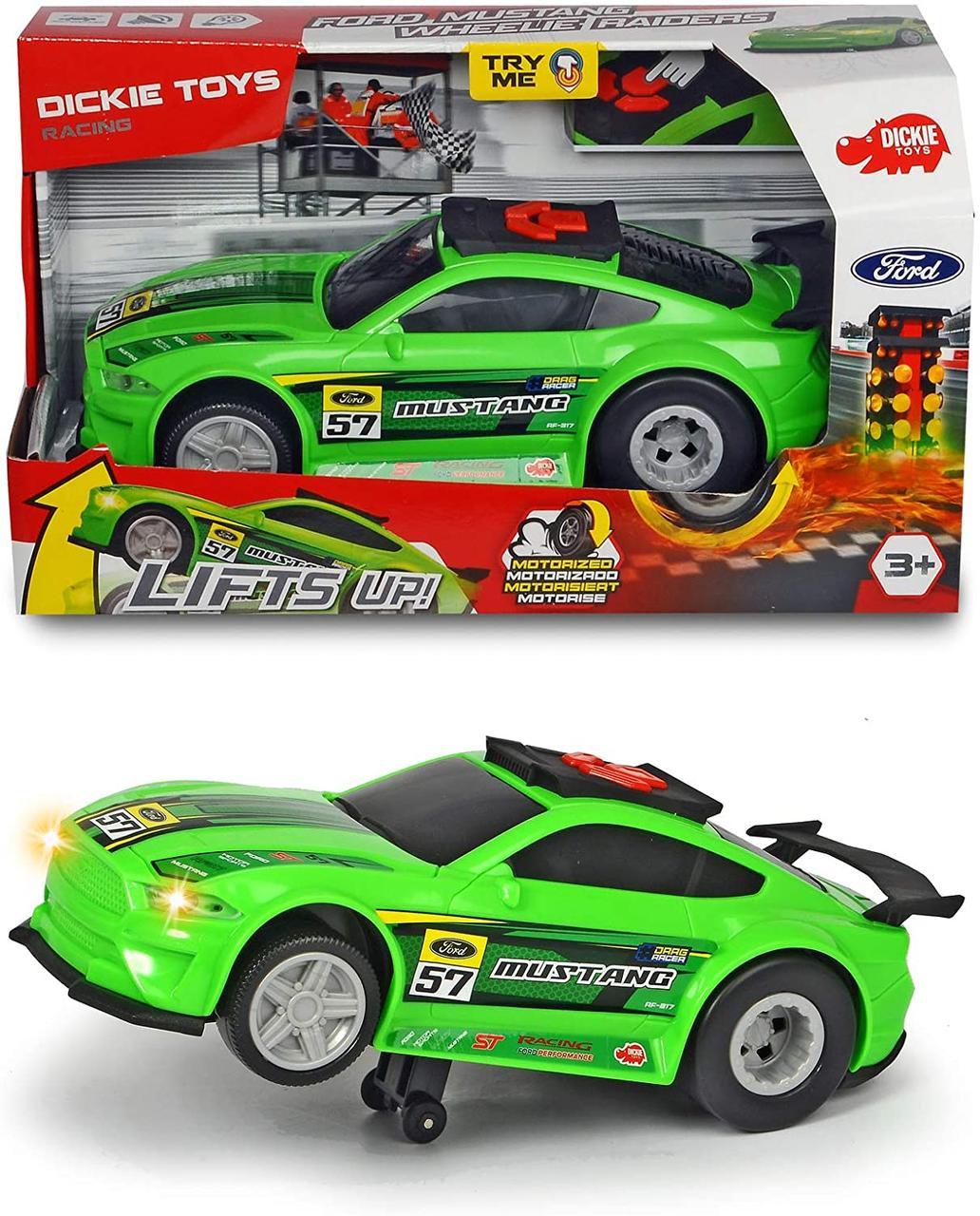 Скоростной автомобиль Форд Мустанг с функцией езды на задних колесах Dickie Toys 3764009