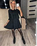 Замшевое платье с коротким рукавом + болеро 46-404, фото 4