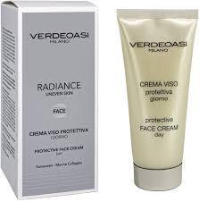 Verdeoasi Protective face cream day  Дневной солнцезащитный крем для лица, 100 мл