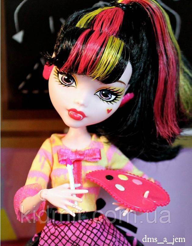Кукла Monster High Дракулаура (Draculaura) Арт класс Монстер Хай Школа монстров