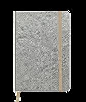 Блокнот деловой INGOT 95x140 мм 80 л клетка золотой иск Кожа