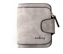 Женский замшевый кошелек Baellerry Forever Mini N 2346 grey,серый (500 шт/ящ)