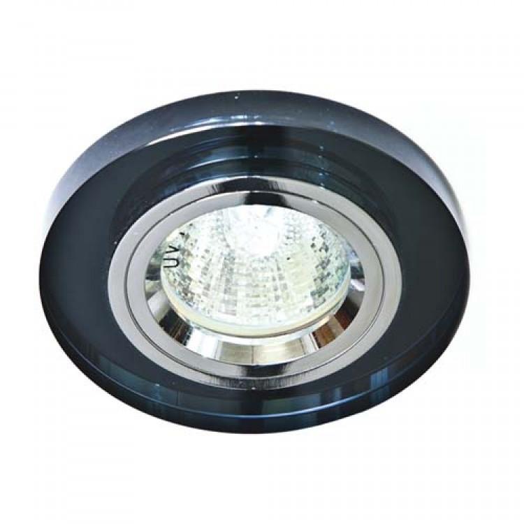 Встраиваемый светильник Feron 8060-2 серый серебро