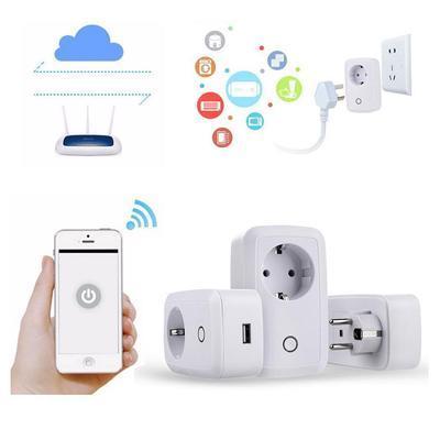 Умный дом, Wi-Fi розетки,таймера, выключатели