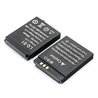 Аккумуляторная батарея LQ-S1 для смарт часов DZ09 / A1 / V8 / X6 /GT 08 и других Black (11699)
