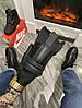 Мужские зимние кроссовки Nike Lunar Force 1 Duckboot '17 (Premium-class) черные с мехом, фото 5