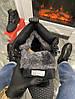 Мужские зимние кроссовки Nike Lunar Force 1 Duckboot '17 (Premium-class) черные с мехом, фото 7