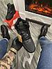Мужские зимние кроссовки Nike Lunar Force 1 Duckboot '17 (Premium-class) черные с мехом, фото 3