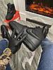 Мужские зимние кроссовки Nike Lunar Force 1 Duckboot '17 (Premium-class) черные с мехом, фото 4