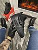Мужские зимние кроссовки Nike Lunar Force 1 Duckboot '17 (Premium-class) черные с мехом, фото 2