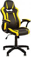 Геймерское кресло c цветными вставками COMBO TILT ECO экокожа