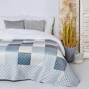 Стильное интерьерное покрывало на кровать CHEQUER2 (54099-SZA1-C2023)