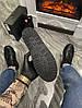 Женские демисезонные ботинки Puma X Fenty by Rihanna Sneaker Boot (Premium-class) черные, фото 6