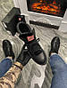Женские демисезонные ботинки Puma X Fenty by Rihanna Sneaker Boot (Premium-class) черные, фото 3