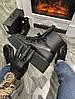 Женские демисезонные ботинки Puma X Fenty by Rihanna Sneaker Boot (Premium-class) черные, фото 4