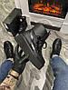 Женские демисезонные ботинки Puma X Fenty by Rihanna Sneaker Boot (Premium-class) черные, фото 2