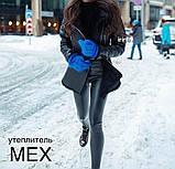Лосины женские из эко кожи тёплые., фото 3
