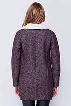 Пальто женское Грейс Джинс коричневый, фото 3
