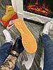 Мужские зимние кроссовки Nike Air Force 1 High (Premium-class) песочные с мехом, фото 3