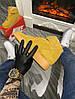 Мужские зимние кроссовки Nike Air Force 1 High (Premium-class) песочные с мехом, фото 4