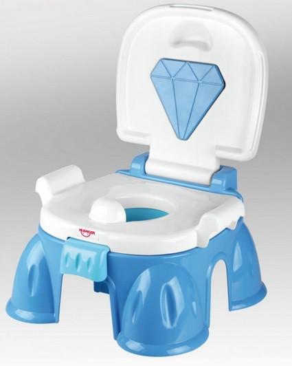 Детский горшок кресло с бриллиантом HE0806