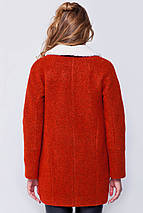 Пальто женское Грейс красный, фото 3