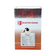 ElectroHouse Кабель FTP  4х2х0,51 CCA черный (наружный монтаж, со стальной проволокой)