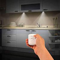 Бездротовий LED світильник 2шт + пульт