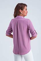 Рубашка женская  Амалия сирень, фото 3