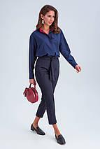 Рубашка женская  Габи синий, фото 2